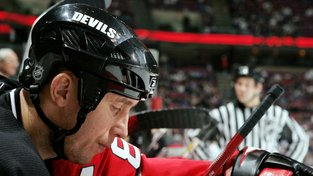 Alexandr Mogilnyj v dresu New Jersey Devils