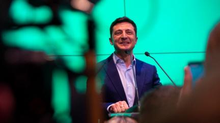Zelenskyj složil prezidentský slib - a rozpustil ukrajinský parlament