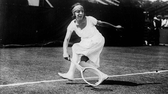 Tenisová hvězda Suzanne Lenglenová