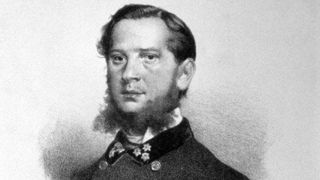 Jindřich Blažej Vávra von Fernsee na litografii Eduarda Kaisera