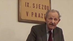 Někdejší generální tajemník ÚV KSČ Miloš Jakeš