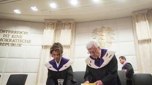 Brigitte Bierleinová je předsedkyní ústavního soudu