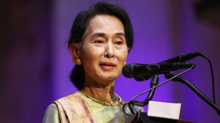 Aktualizováno: Barmská vůdkyně Su Ťij je v Česku, Babiš ocenil její práci
