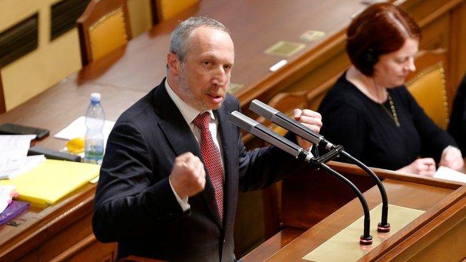 Václav Klaus mladší ve sněmovně