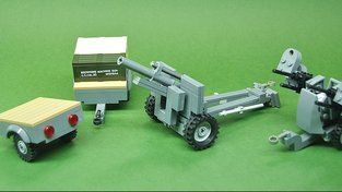 World War II towable cargo & weapons