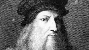 Leondardo da Vinci na obraze Raffaella Sanzia Morghena