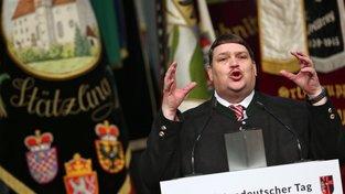 Bernd Posselt, předseda Sudetoněmeckého krajanského sdružení