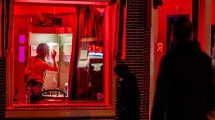 Amsterdamská čtvrť červených luceren