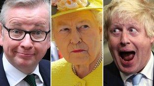 Boris Johnson (vpravo) a Michael Gove (vlevo). První lhal a šňupal. Druhý jen šňupal, ale prince Charlese přirovnával k Hitlerovi. Jeden z nich patrně bude příštím britským premiérem. Co na to panovnice?