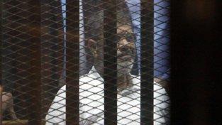 bývalý egyptský prezident Muhammad Mursí