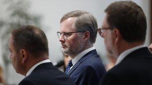 Šéf ODS Petr Fiala předá potřebné podpisy v pátek 21. června