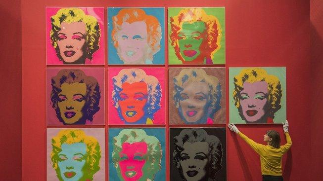Díla mistra pop artu Andyho Warhola vyvolávají silné emoce. Ilustrační snímek