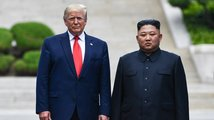 Trump se znovu sešel s Kimem, vstoupil na území KLDR