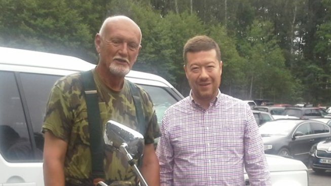 Tomio Okamura a Hynek Blaško