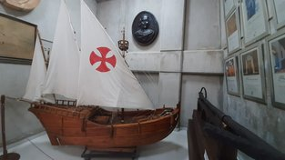 Jedna z karavel Kryštofa Kolumba