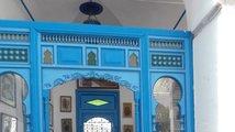 Tuniské město Sidi Bou Said