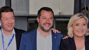 Okamura, Salvini, Le Pennová