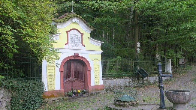 Studánka Vosovka, u níž se podle pověsti kníže Oldřich setkal se svatým Prokopem