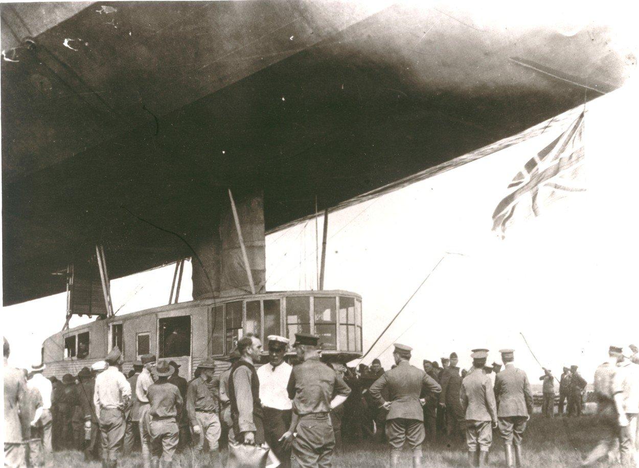 Vzducholoď R34 přeletěla Atlantik
