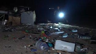 Bouře zasáhla ostrov Chalkidiki
