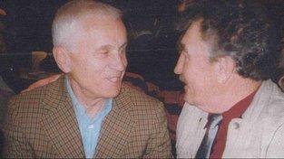 František Kolečkář s Josefem Mašínem při setkání v USA.
