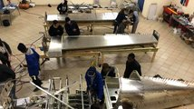 Letadlo sestrojené středoškoláky