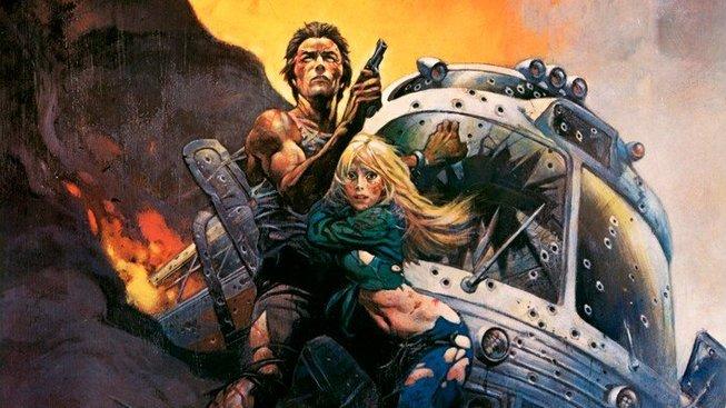 Frazettův plakát k filmu Železný stisk z roku 1977