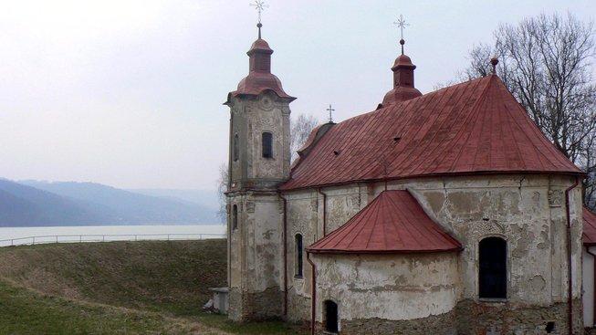 Kostel svatého Štefana u přehrady Vel'ká Domaša