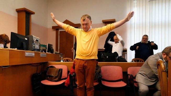Antonín Koláček u soudu