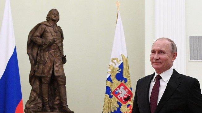 Vladimir Putin a jeho velký vzor - Petr I. Veliký