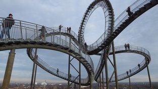Tygr a želva – magická hora v německém Duisburgu