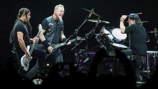 Pražský koncert kapely Metallica v roce 2018