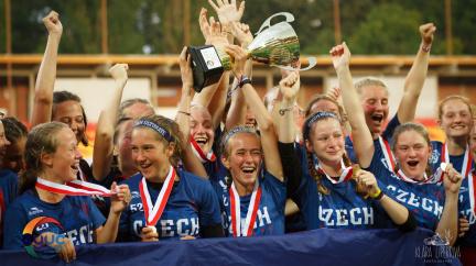 České dívky do 17 let jsou mistryně Evropy v ultimate frisbee