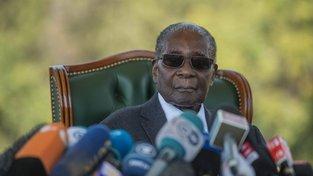 Robert Mugabe byl v době své abdikace nejstarším prezidentem na světě