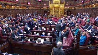 Sněmovnou lordů prošel návrh zákona proti brexitu bez dohody