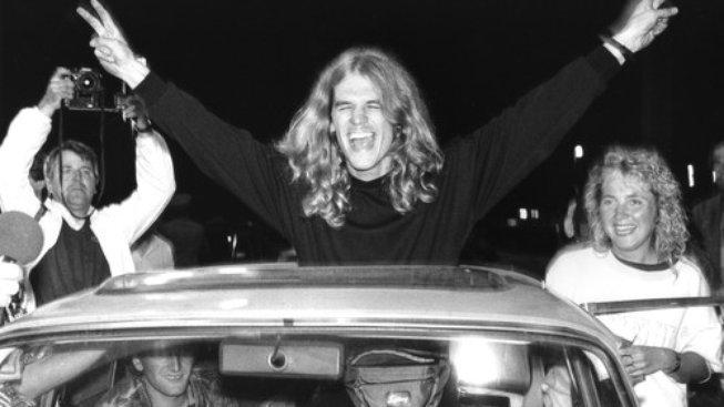 11. září 1989 Nickelsdorf - a čirá radost po přechodu do Rakouska