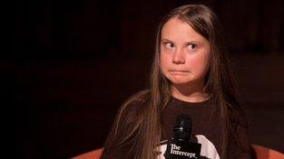 Greta Thunbergová v New Yorku