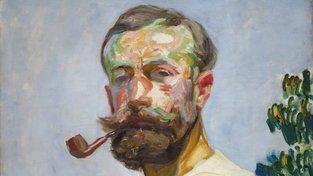 František Kupka - autoportrét