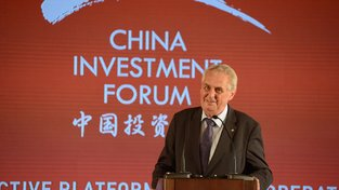 Miloš Zeman na China Investment Forum 2017