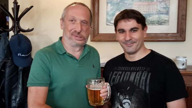 Jan Kopal s Václavem Klausem ml.