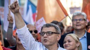 Lubomír Zaorálek, davový řečník, jakých je mezi sociálními demokraty poskrovnu