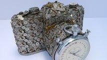 Sošky z hodinkových součástek