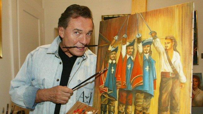 Karel Gott nejen zpíval, ale i maloval: Jeden za všechny, všichni za jednoho