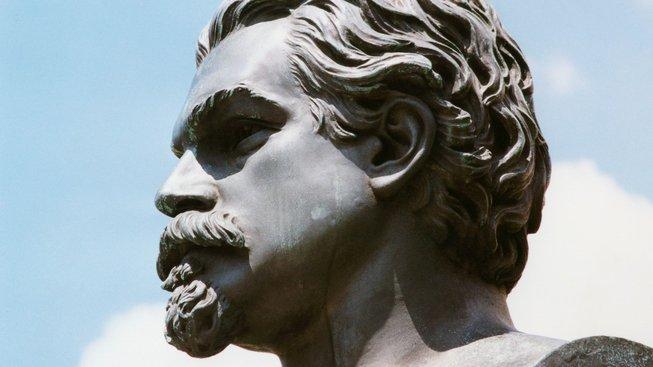 Pomník Vítězslava Hálka na pražském Karlově náměstí