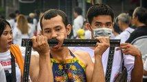 Vegetariánský festival v Thajsku