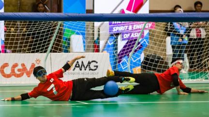 Čeští goalballisté sní o paralympiádě