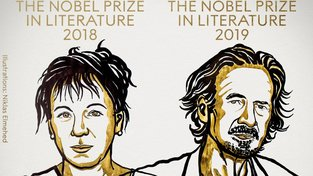 Nobelovu cenu za literaturu za 2018 obdržela Olga Tokarczuková a za rok 2019 ji získal Peter Handke.