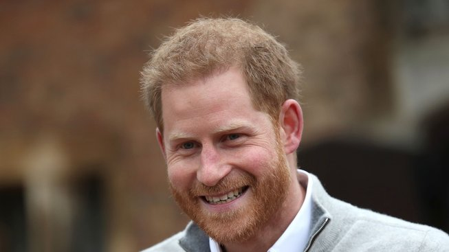 Princ Harry, vévoda ze Sussexu.