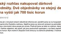 Parlamentní listy vs. Český rozhlas