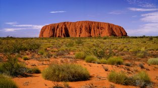 Posvátná hora Uluru